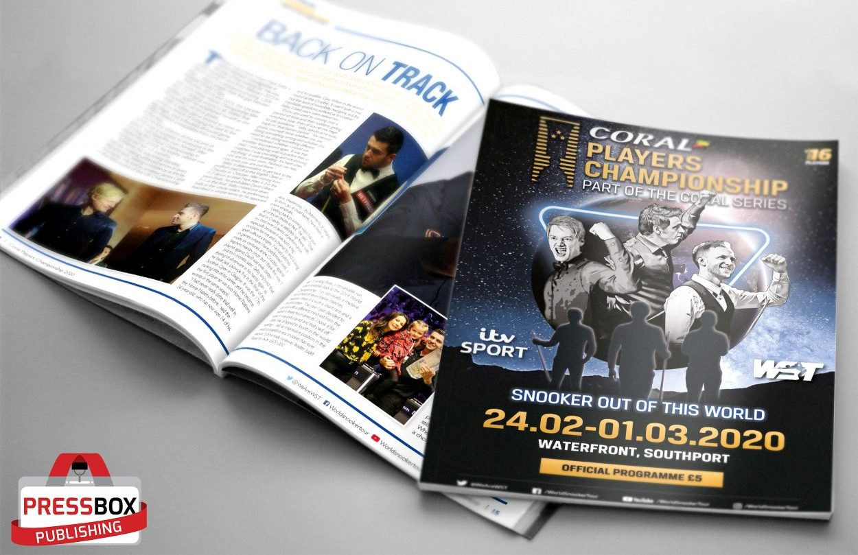 2020 Coral Players Championship programme