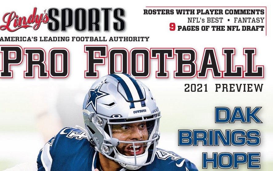 Where to find Lindy's Sports Pro Football Season Preview annual 2021/22 in the UK